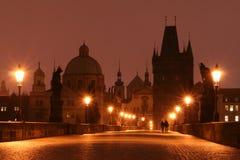 Ponte de Charles (Praga) fotografia de stock
