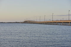Ponte de charlotte do porto Foto de Stock