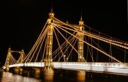 Ponte de Chelsea Fotografia de Stock