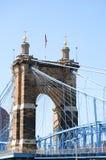 Ponte de Cincinnati, Ohio Imagens de Stock