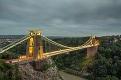 Ponte de Clifton imagens de stock