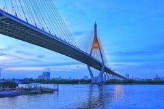Ponte de corda Foto de Stock Royalty Free