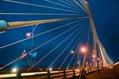 Ponte de corda de Rama VIII Fotografia de Stock Royalty Free