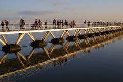 ponte de cruzamento Foto de Stock