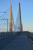 Ponte de cruzamento de Tilikum dos povos Fotografia de Stock