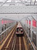 Ponte de cruzamento do trem imagem de stock royalty free