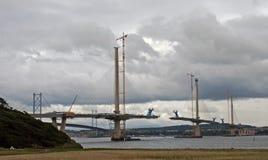 Ponte de cruzamento nova de Queensferry Imagens de Stock