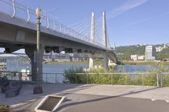 Ponte de cruzamento Portland de Tilikum Oregon Fotos de Stock