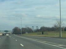 Ponte de Delaware foto de stock royalty free
