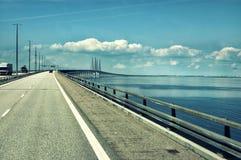 Ponte de Dinamarca imagem de stock