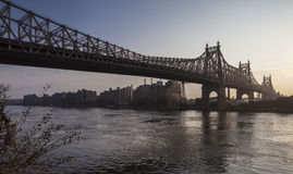 Ponte de Ed Koch Queensboro Imagem de Stock Royalty Free