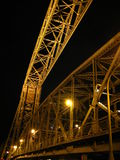 Ponte de elevador aérea de Duluth Fotografia de Stock Royalty Free