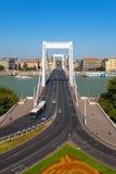 Ponte de Elisabeth em Budapest, Hungria Imagens de Stock Royalty Free