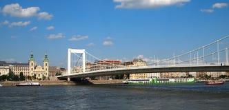 Ponte de Elizabeth imagem de stock