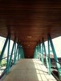 Ponte de fardo velha fotografia de stock royalty free