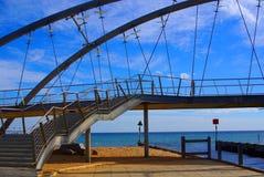Ponte de Frankston imagem de stock