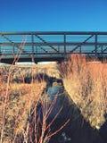 Ponte de fuga em Lafayette Colorado fotografia de stock