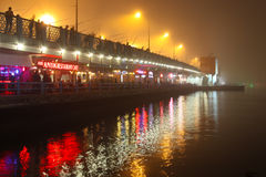Ponte de Galata Imagem de Stock Royalty Free