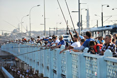Ponte de Galata Foto de Stock