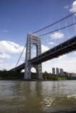 Ponte de George Washington fotografia de stock