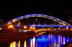 Ponte de Grozavesti Fotos de Stock