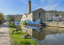 Ponte de Hebden, ocidental - yorkshire Imagem de Stock Royalty Free