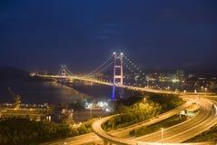 Ponte de Hong Kong Foto de Stock Royalty Free
