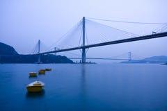 Ponte de Hong Kong Foto de Stock