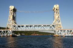 Ponte de Houghton-Hancock no dia Fotos de Stock