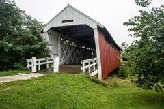 A ponte de Imes, St Charles, Madison County, Iowa fotos de stock