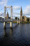 Ponte de Inverness imagem de stock royalty free