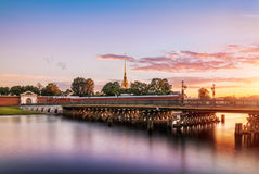 Ponte de Ioannovsky fotografia de stock royalty free