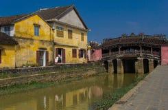 Ponte de Japão em Hoian. Vietnã Fotos de Stock Royalty Free