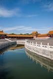 Ponte de Jinshui do museu de palácio nacional do Pequim Fotografia de Stock Royalty Free