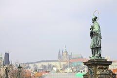 Tipo no fechamento de Praga de Praga velha Fotos de Stock