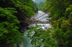 Ponte de Kazurabashi imagens de stock