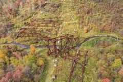 Ponte de Kinzua Imagem de Stock Royalty Free