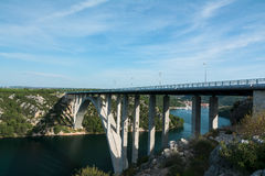 Ponte de Krka Fotografia de Stock Royalty Free