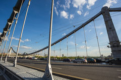 Ponte de Krymsky Fotografia de Stock