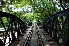 Ponte de Kwai do rio, hoje Fotografia de Stock Royalty Free
