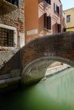 Ponte de L'arbero, Brücke im Bereich Sans Marco von Venedig Stockfotos