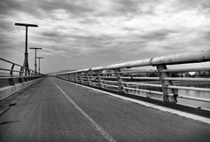 Ponte de Lagymanyos em Budapest Fotografia de Stock Royalty Free