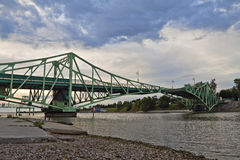 Ponte de levantamento, Liepaja, Latvia. Fotografia de Stock Royalty Free