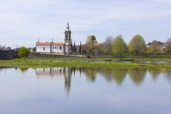 Ponte DE Lima, Kerk Royalty-vrije Stock Foto