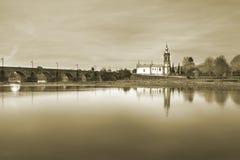 Ponte de Lima, kyrka Fotografering för Bildbyråer