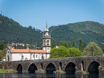 Ponte De Lima in Portugal lizenzfreies stockbild