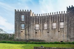 PONTE DE LIMA, PORTUGAL - CIRCA APRIL 2018: Paco do Marques date royalty free stock image