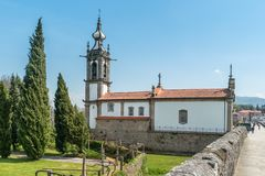PONTE DE LIMA, PORTUGAL - CIRCA APRIL 2018: Santo Antonio da Tor royalty free stock photos