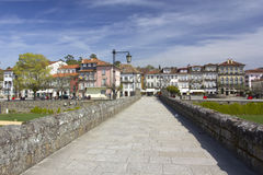 Ponte de Lima, walking away. Portugal Royalty Free Stock Photography