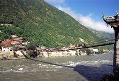 Ponte de Luding Imagem de Stock Royalty Free